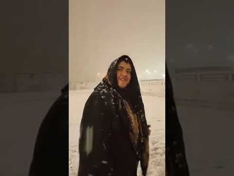 Snow Fall in Mashad - Iran 28Jan18
