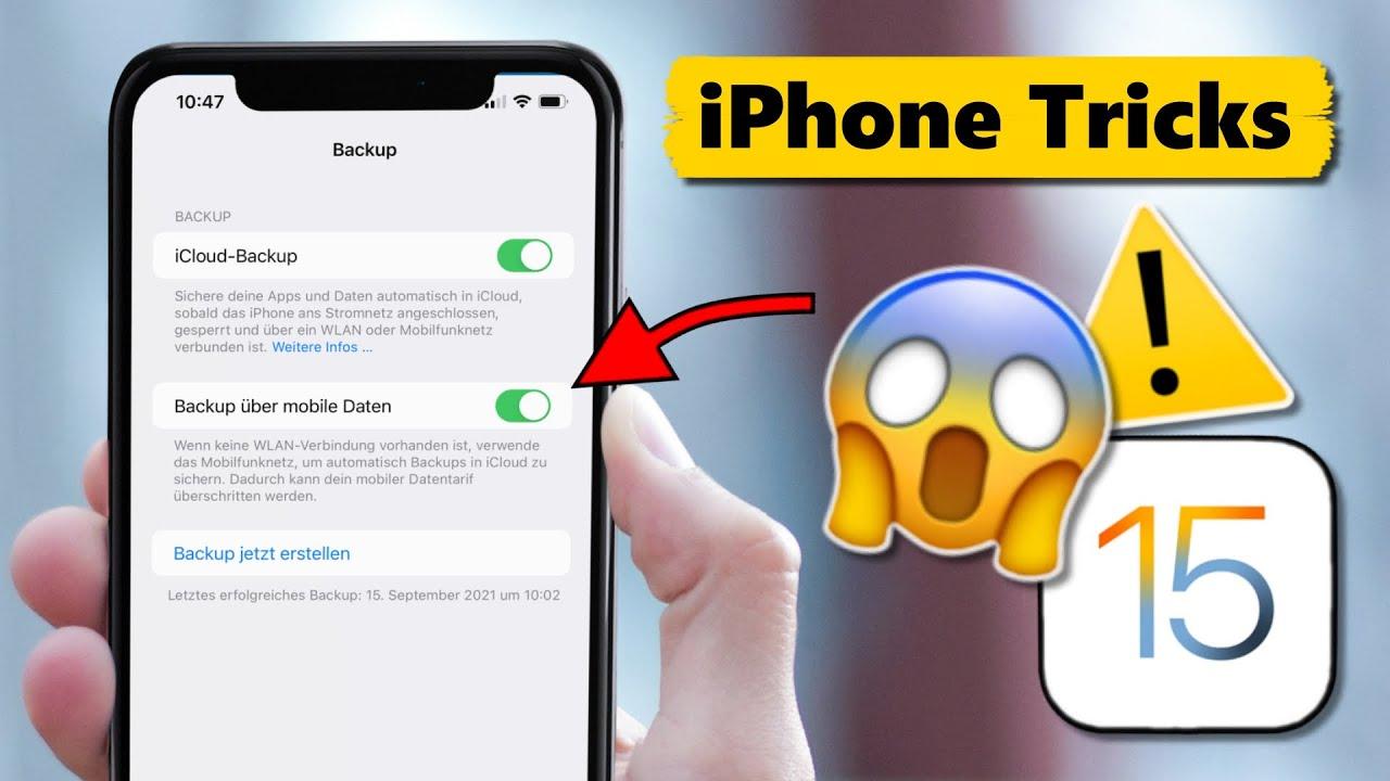 Nach iOS 15 Update: VORSICHT bei dieser Funktion! ⚠️😱