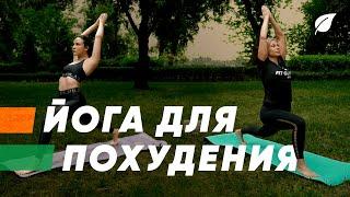 Йога для похудения упражнения для начинающих