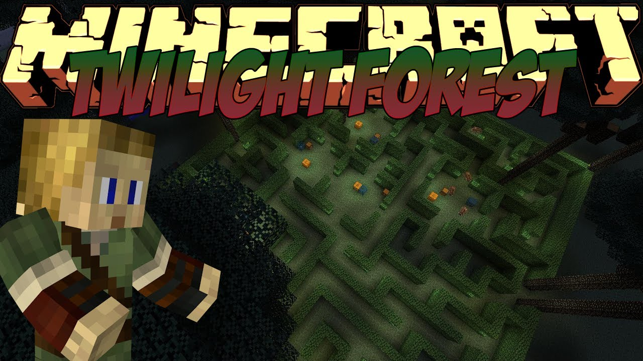 minecraft twilight forest mod 1.7 10
