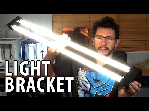 3D Printing a Light Bracket Designed Using Fusion 360 [Practical Printing]