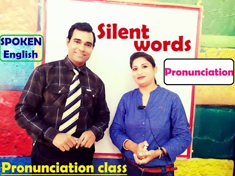 Pronunciation of English words ! Spoken english (Silent words)