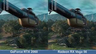 Radeon RX Vega 56 vs. GeForce RTX 2060 - Far Cry New Dawn - Benchmark Comparison Test (i7-9700K)