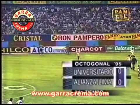 (27.12.95) Universitario de Deportes 1 vs alianza lima 0 EL CLÁSICO DE MARTÍNEZ