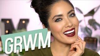 GRWM: Invisalign, Vlogging and a Skin Focused Series?? | Melissa Alatorre