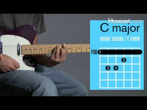 how-to-play-barre-chords-in-c-major- -guitar-lessons