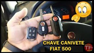 Como mudar a frequência do controle chave canivete flex Fiat 500