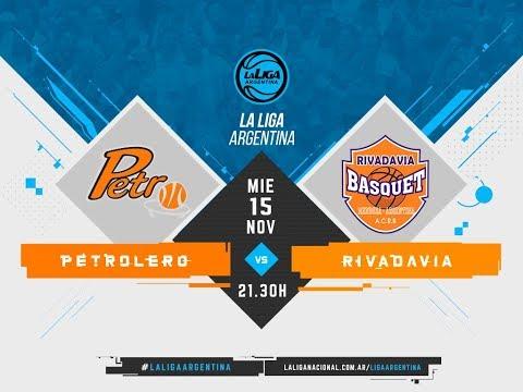 #LaLigaArgentina | 15.11 Petrolero vs. Rivadavia