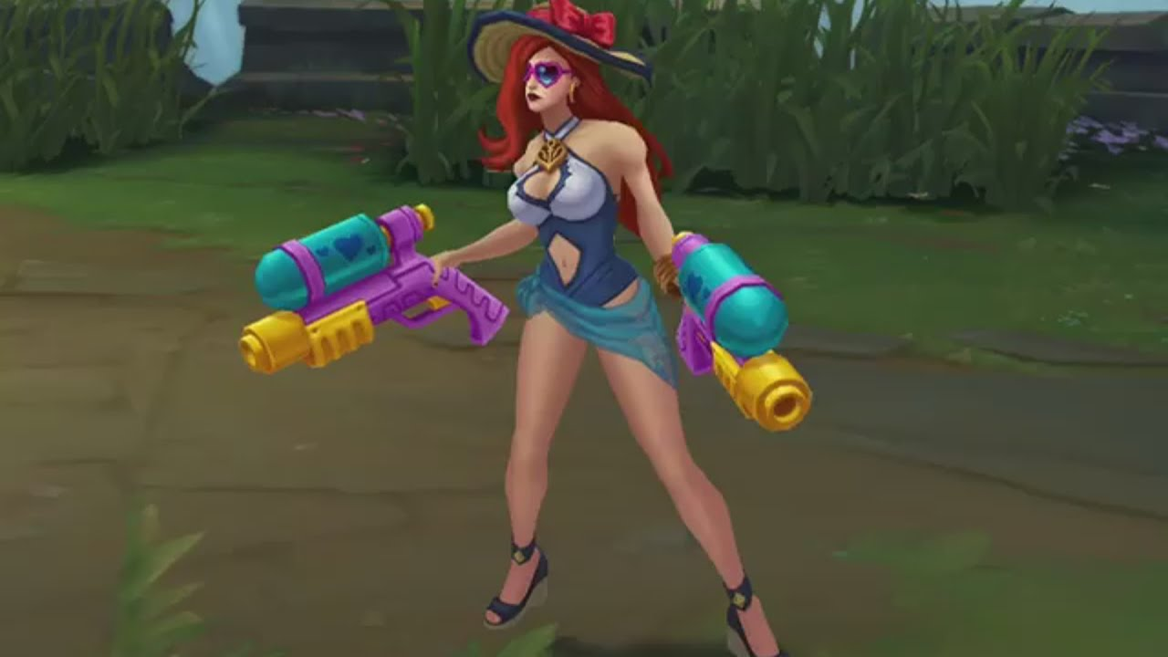Poolparty Miss Fortune