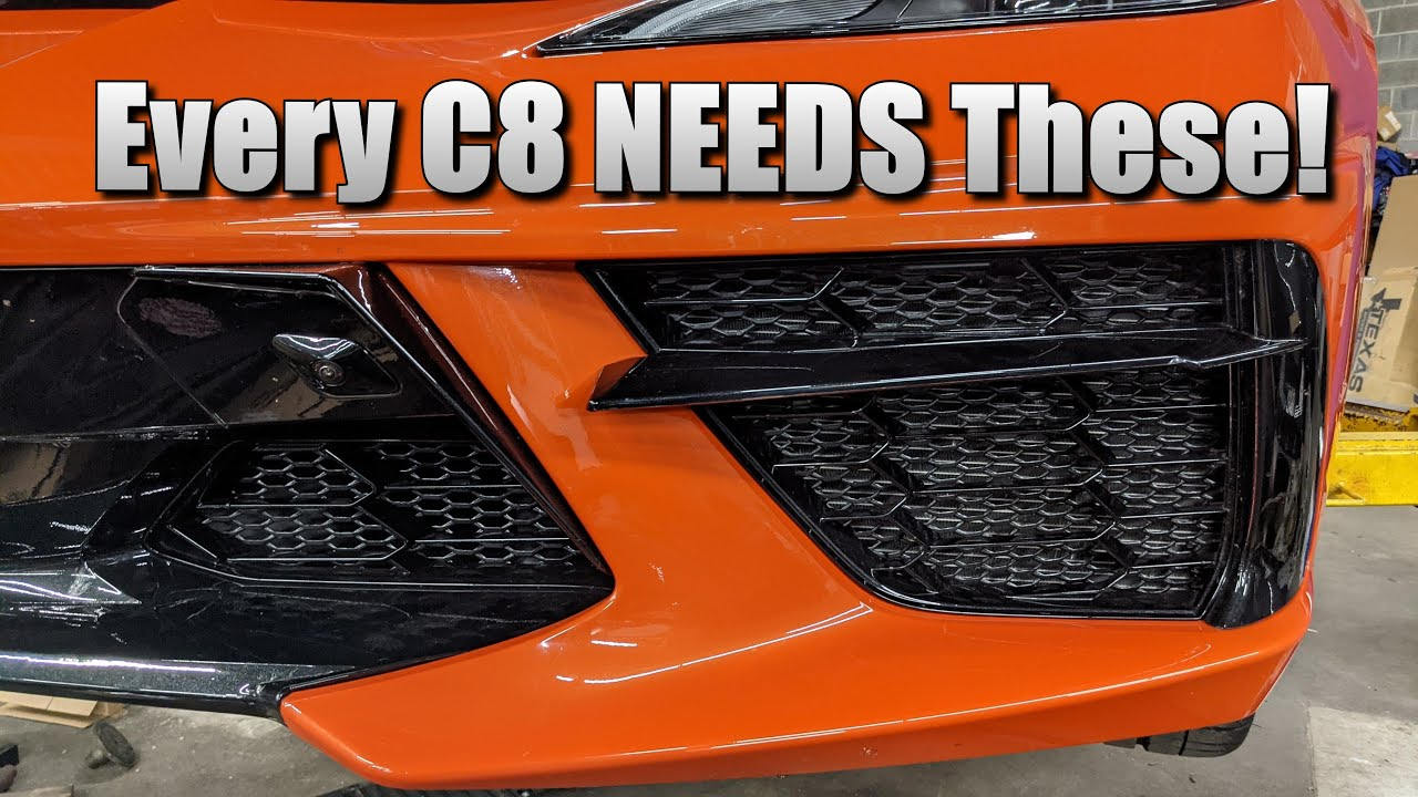 Complete Street Performance tries the RGS C8 Corvette Radiator Grilles and falls in love!