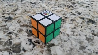 Solve the 2x2 Rubik's Cube: Easiest Beginner's Method (Only 2 Algorithms!)
