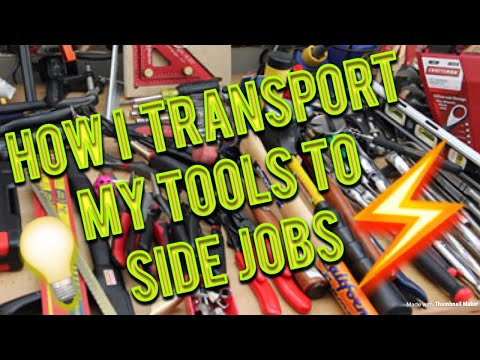 Electricians Tool Pack Out | The toolboxes and bags I use