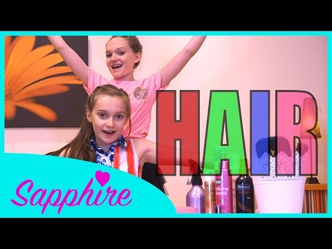 Hair - Little Mix | Cover by 10 y/o Skye & 13 y/o Sapphire