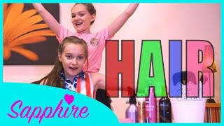 Hair - Little Mix   Cover by 10 y/o Skye & 13 y/o Sapphire