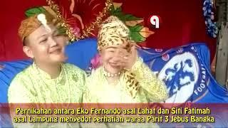 VIDEO: Pernikahan Pemuda 25 Tahun dan Nenek 75 Tahun di Bangka