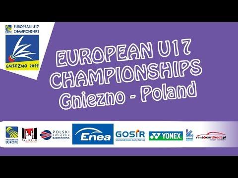 Kjær / Løber vs Borisov / Golubeva (XD, R16) - European U17 C'ships 2019