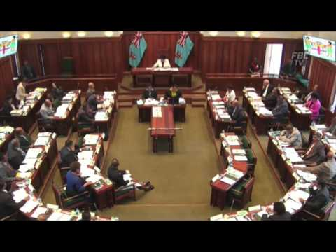 Fijian Minister for Lands, Hon. Mereseini Vuniwaqa's response on mining license.