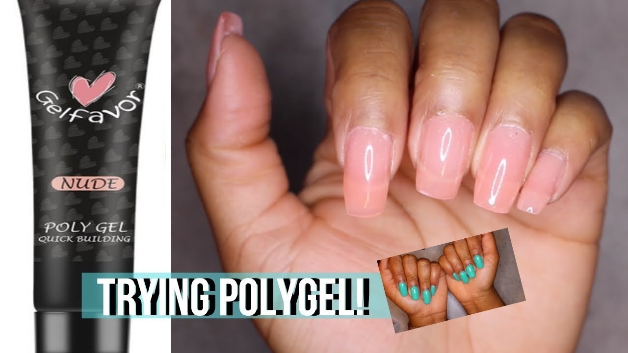 Rosalind Nail Haul Trying Polygel For The First Time Youtube
