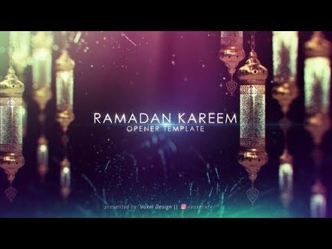 مشاريع افتر افكت مجانية تحميل قالب لتريلر اسلامي لعرض النصوص للبرامج الدينية في شهر رمضان 2019 Youtube