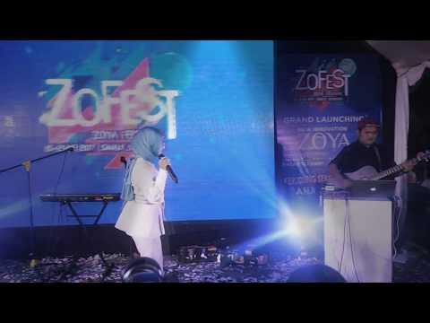 Fatin - Ketika Tangan dan Kaki Berkata -  Ciwalk Bandung - Grand Launching Zoya