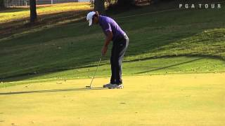 Martin Flores interview after Round 1 of the Panama Claro Championship