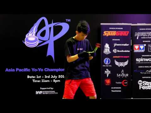 Sun Jiahao (CN): 1A Division Prelim  - Asia Pacific Yo-yo Championships 2016