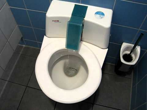 Superbe A German High Tech, Self Cleaning Toilet