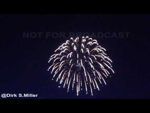 Rice Lake Speedway Fireworks display July 2017