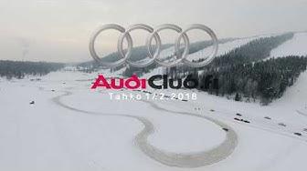 Audiclub Finland ice track event Tahko 17.2.2018