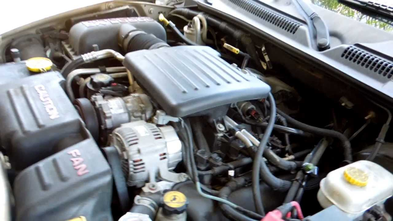 small resolution of 2003 dodge dakota 4 7l v8 throttle position sensor tps and idle air control iac valve location youtube