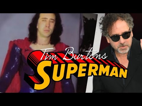 Tim Burtons Cancelled Superman Movie