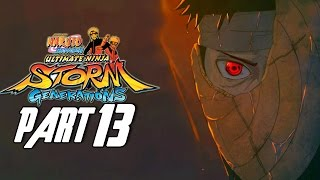 Naruto Shippuden: Ultimate Ninja Storm Generations - Walkthrough Part 13, Gameplay Xbox 360