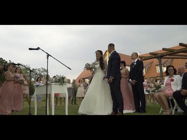 Kristýna a František 1.6.2018 (svatební video)