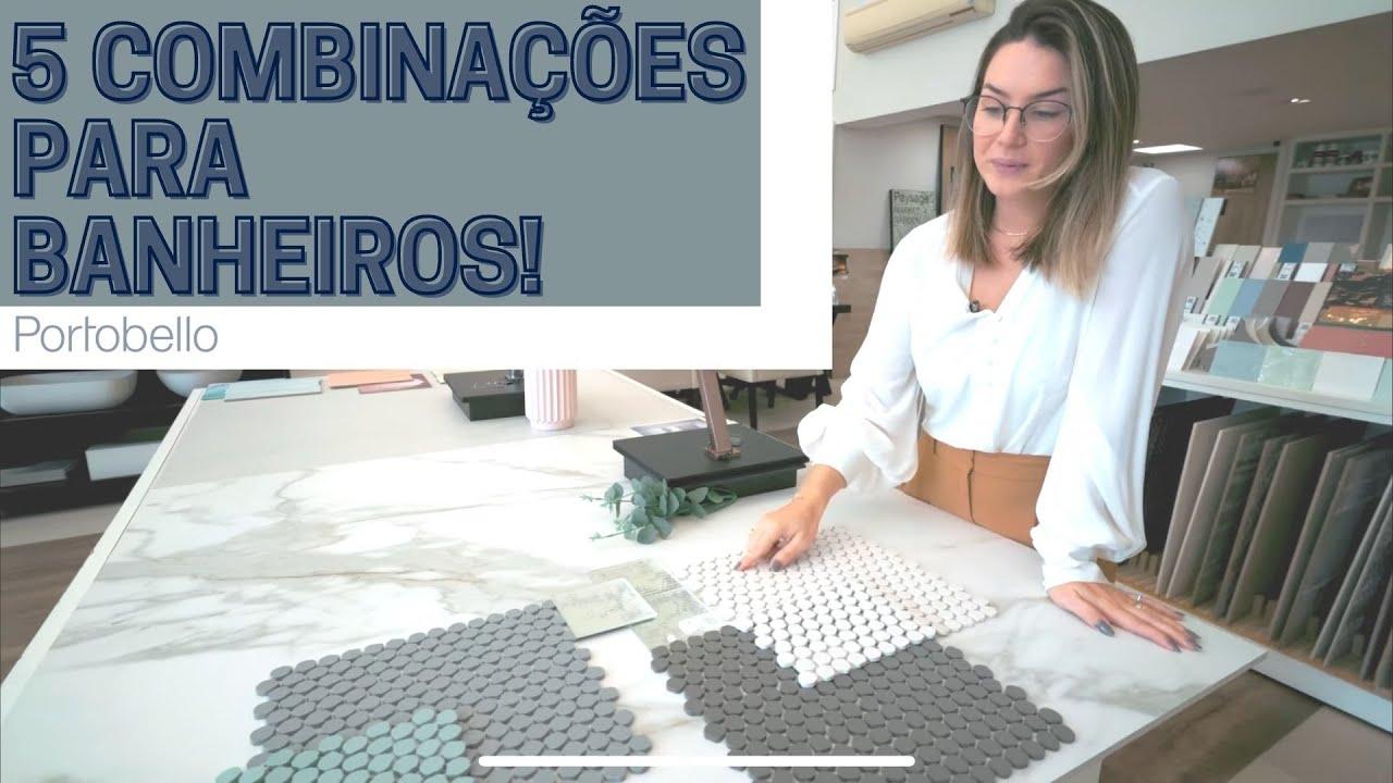DICA | AQUELE COM 5 COMBINAÇÕES PARA BANHEIROS!