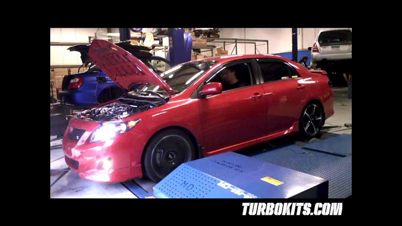 2010 Corolla 1 8L AT Spins the DYNO at TurboKits com to 120WHP/115FtLbs