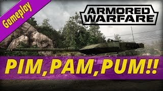 ARMORED WARFARE ESPAÑOL | PIM,PAM,PUM!!