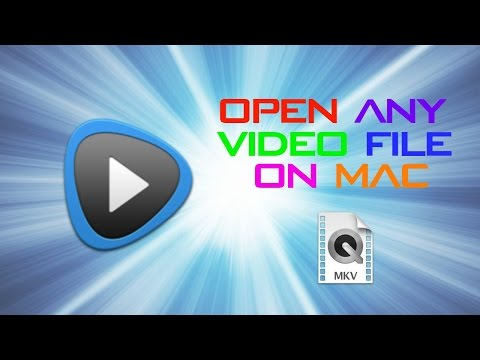HOW TO OPEN ANY VIDEO FILE ON MAC FOR FREE! INCLUDING .AVI AND .MKV! UPDATED!