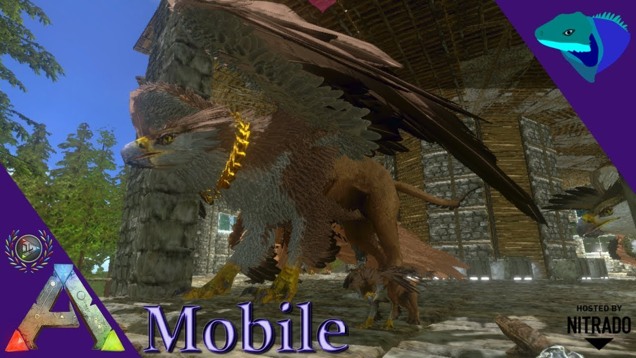 HOW TO BREED AND RAISE GRIFFINS! ARK: Mobile Beginner's Guide [E9]