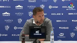 Rueda de prensa de  Curro Torres tras el SD Huesca vs CD Lugo (2-1)