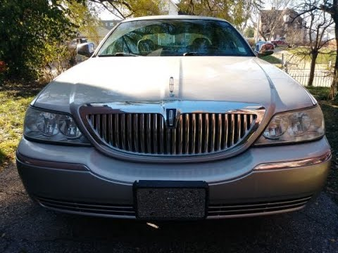 How to replace automatic headlight sensor Lincoln Town Car