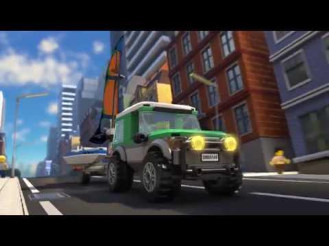 Getaway Goons Lego City Police Mini Movie Part 2 Youtube