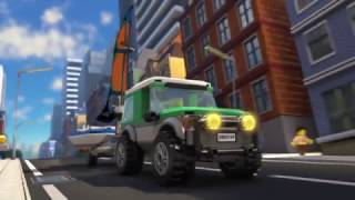Repeat youtube video Getaway Goons - LEGO City Police - Mini Movie Part 2