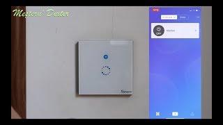 Setare aplicatie pentru intrerupator smart Sonoff ( aprindere /stingere  lumina cu telefonul mobil)