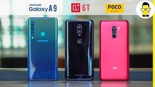 Samsung Galaxy A9 vs OnePlus 6T vs Poco F1 camera comparison: the battle of 11 cameras!