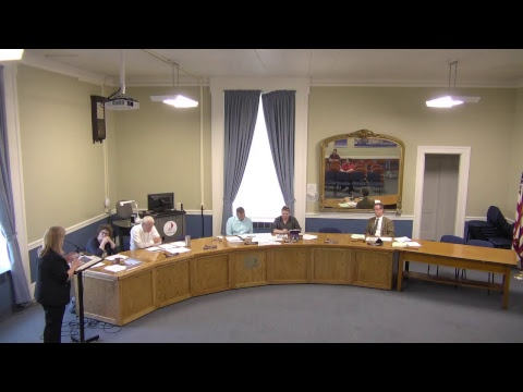 City of Plattsburgh, NY Meeting  4-27-17
