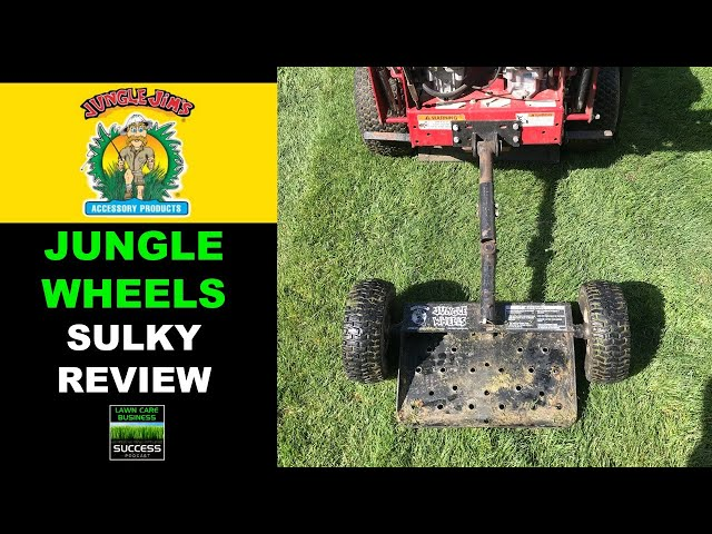 Jungle Jim's Accessory Products Jungle Wheels Sulky Review