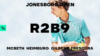 2020 Jonesboro Open | R2B9 LEAD | McBeth, Heimburg, Gilbert, Frescura | Jomez Disc Golf