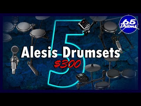 Alesis Nitro VS The Older Versions: (Burst/DM6-USB/DM6-Session-DM6-Nitro)