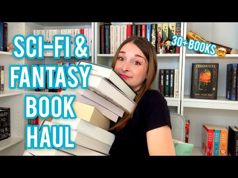 SCI-FI & FANTASY BOOK HAUL