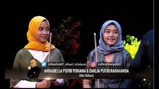 Download Video Kakak Beradik Atlet Billiard Trick Shot | HITAM PUTIH (28/08/18) 1-4 MP3 3GP MP4